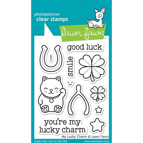 Lawn Fawn MY LUCKY CHARM Clear Stamps LF842 Preview Image