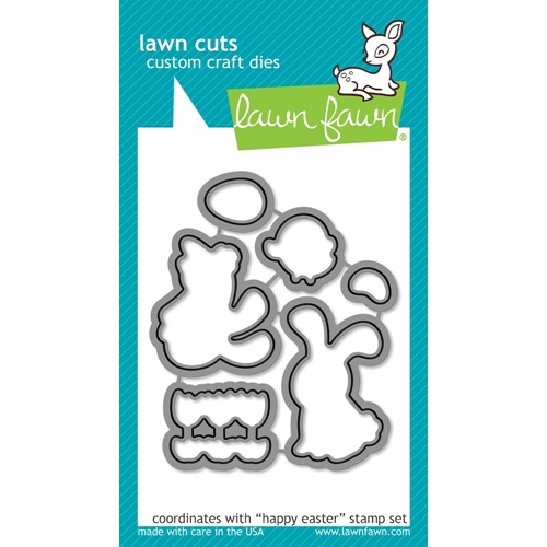 Lawn Fawn HAPPY EASTER Lawn Cuts Dies LF833 Preview Image