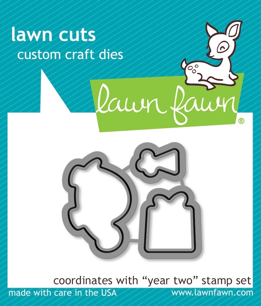 Lawn Fawn YEAR TWO Lawn Cuts Dies LF834* zoom image