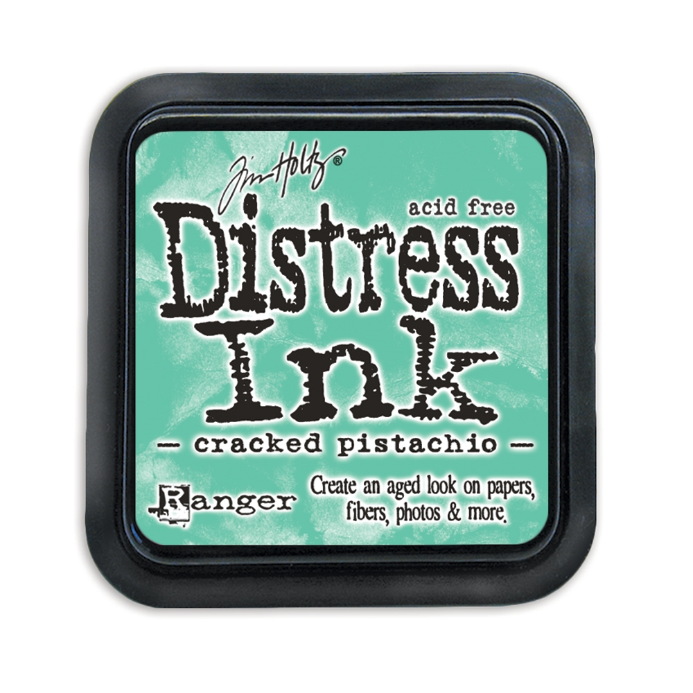 Tim Holtz Distress Ink Pad CRACKED PISTACHIO TIM43218 zoom image