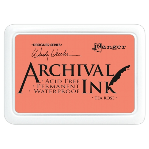 Ranger Wendy Vecchi Archival TEA ROSE Ink Pad AID45663 * Preview Image