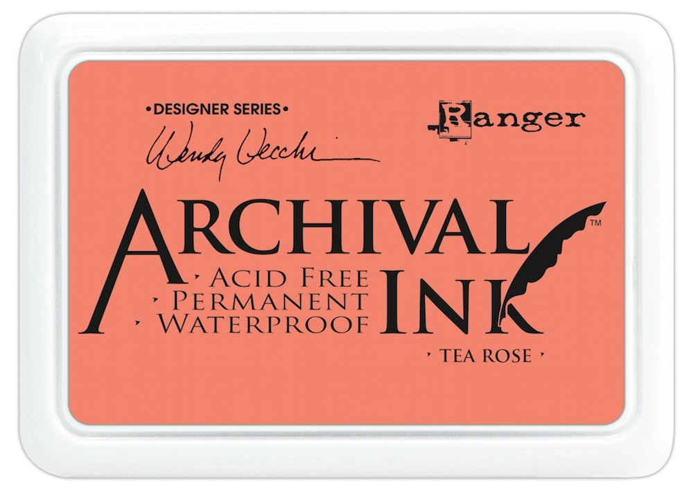 Ranger Wendy Vecchi Archival TEA ROSE Ink Pad AID45663 zoom image