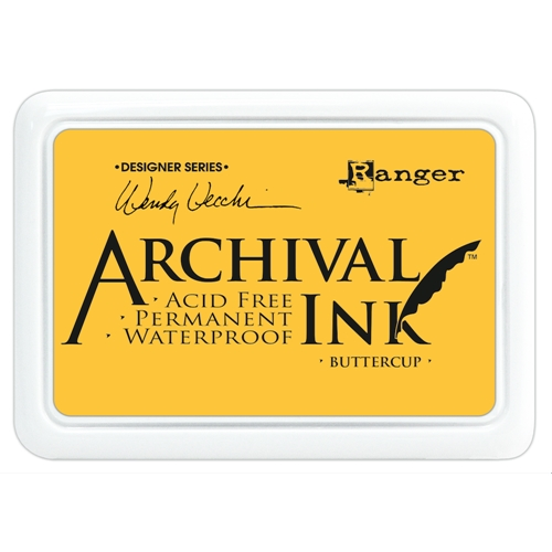 Ranger Wendy Vecchi Archival BUTTERCUP Ink Pad AID45632 Preview Image