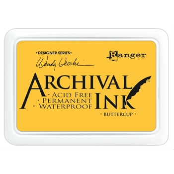 Ranger Wendy Vecchi Archival BUTTERCUP Ink Pad AID45632