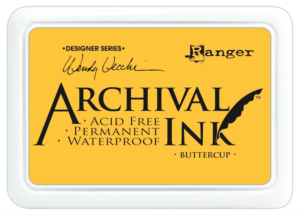 Ranger Wendy Vecchi Archival BUTTERCUP Ink Pad AID45632 zoom image