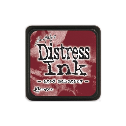 Tim Holtz Distress Mini Ink Pad AGED MAHOGANY Ranger TDP39839 Preview Image