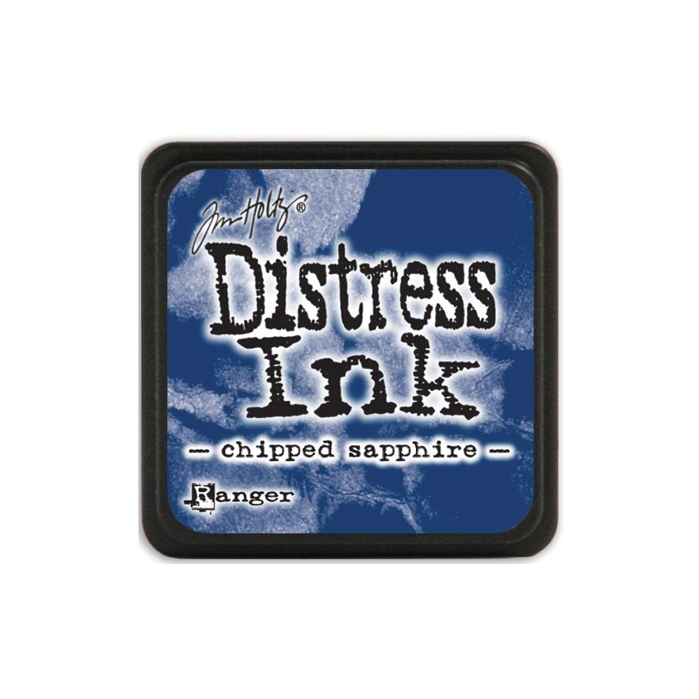 Tim Holtz Distress Mini Ink Pad CHIPPED SAPPHIRE Ranger TDP39907 zoom image