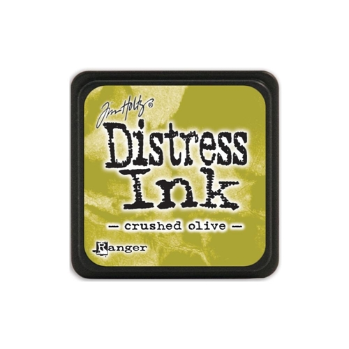 Tim Holtz Distress Mini Ink Pad CRUSHED OLIVE Ranger TDP39914 Preview Image