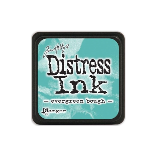 Tim Holtz Distress Mini Ink Pad EVERGREEN BOUGH Ranger TDP39945 Preview Image