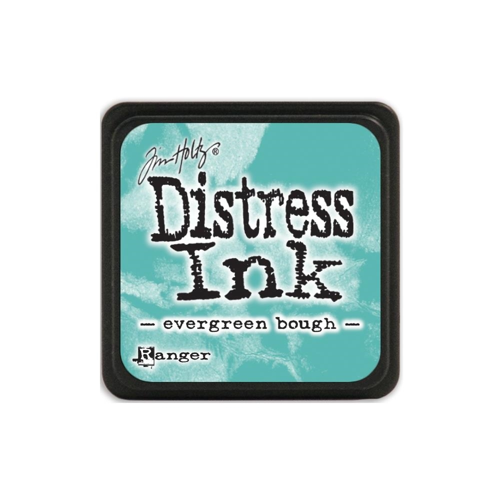 Tim Holtz Distress Mini Ink Pad EVERGREEN BOUGH Ranger TDP39945 zoom image