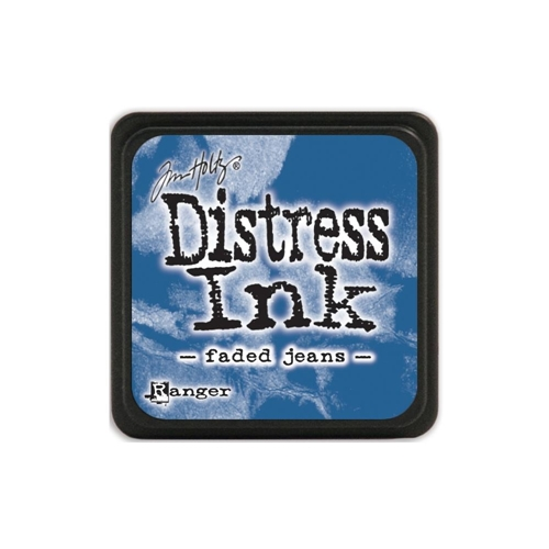 Tim Holtz Distress Mini Ink Pad FADED JEANS Ranger TDP39952 Preview Image
