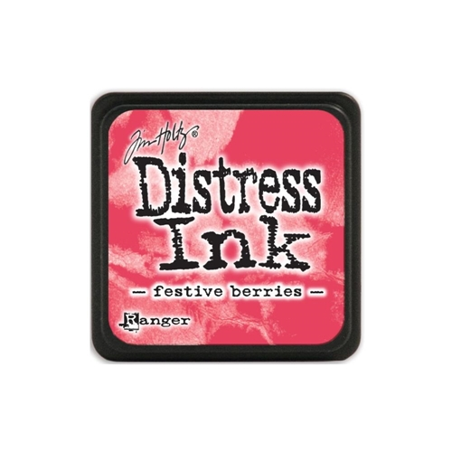 Tim Holtz Distress Mini Ink Pad FESTIVE BERRIES Ranger TDP39969 Preview Image