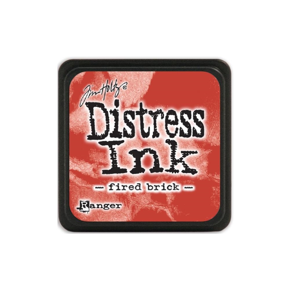 Tim Holtz Distress Mini Ink Pad FIRED BRICK Ranger TDP39976 zoom image