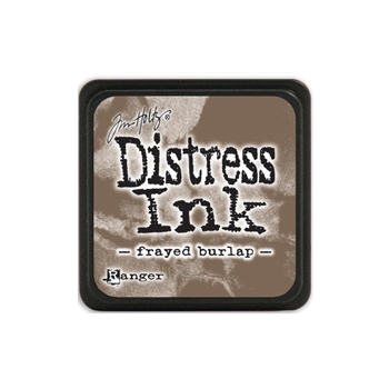 Tim Holtz Distress Mini Ink Pad FRAYED BURLAP Ranger TDP39990