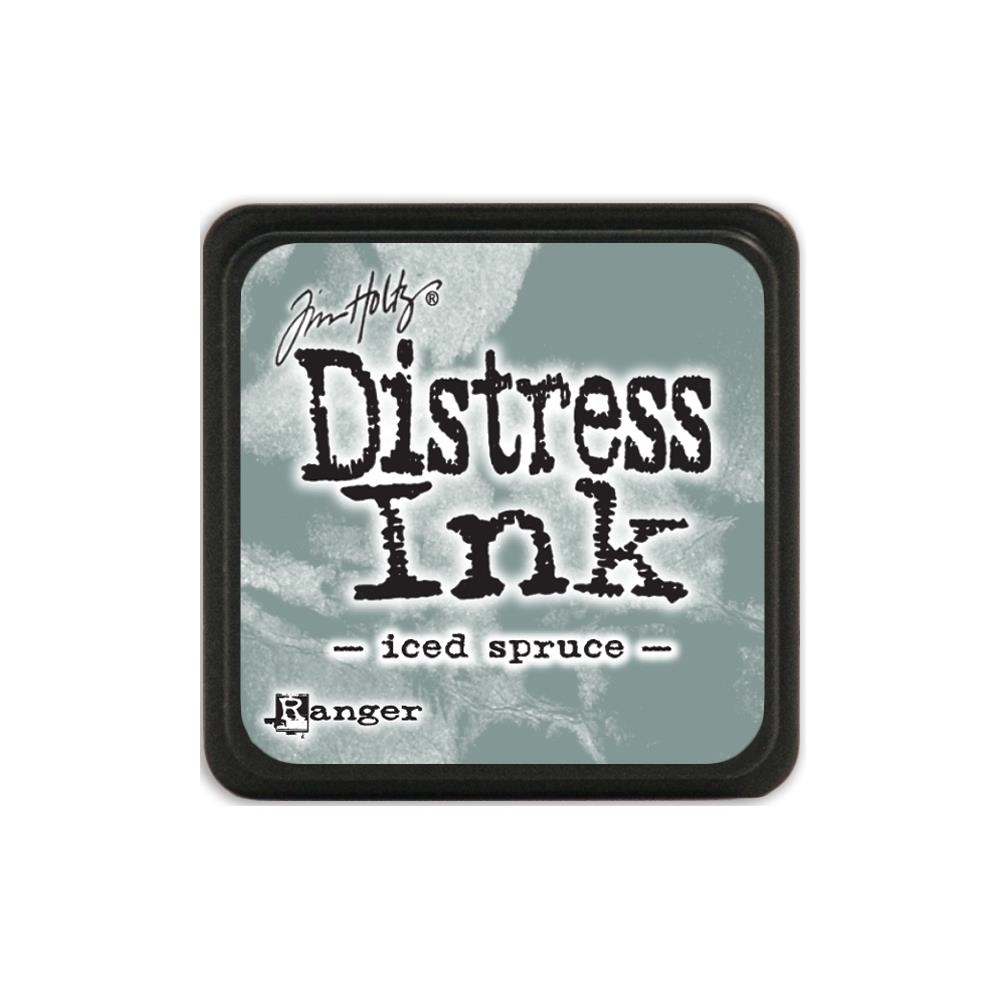 Tim Holtz Distress Mini Ink Pad ICED SPRUCE Ranger TDP40019 zoom image
