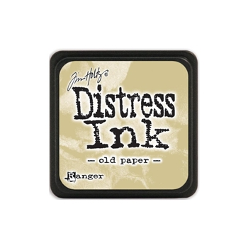Tim Holtz Distress Mini Ink Pad OLD PAPER Ranger TDP40057