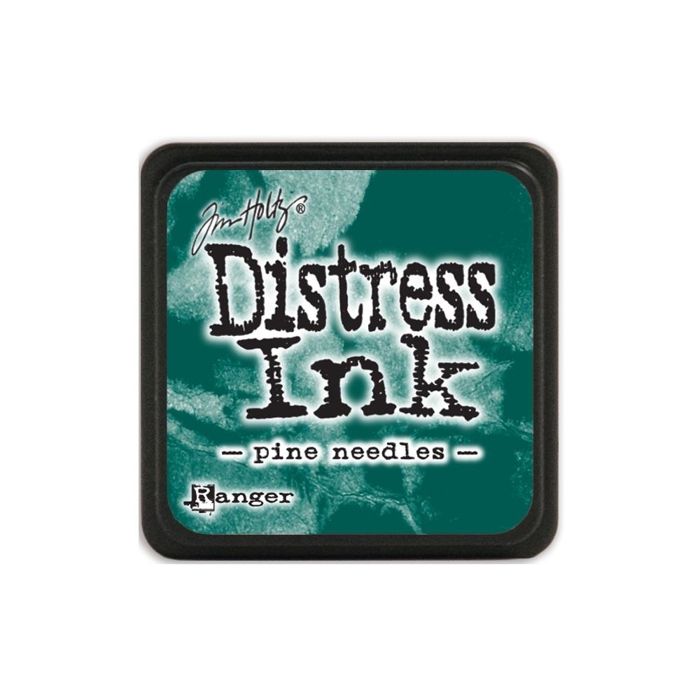 Tim Holtz Distress Mini Ink Pad PINE NEEDLES Ranger TDP40095 zoom image
