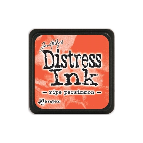Tim Holtz Distress Mini Ink Pad RIPE PERSIMMON Ranger TDP40118 Preview Image