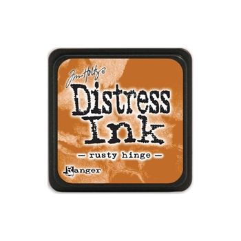 Tim Holtz Distress Mini Ink Pad RUSTY HINGE Ranger TDP40125