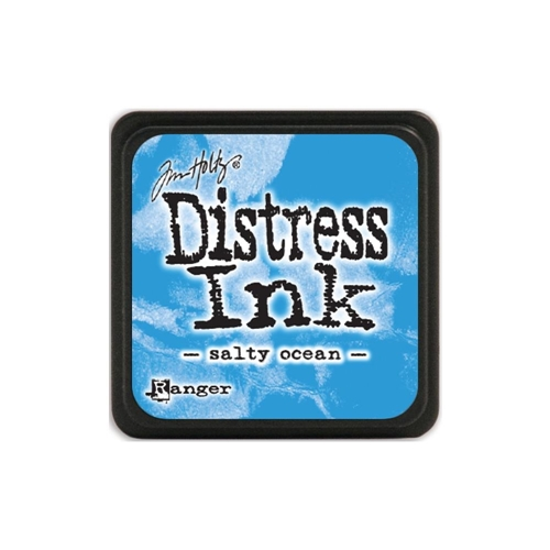 Tim Holtz Distress Mini Ink Pad SALTY OCEAN Ranger TDP40132 Preview Image