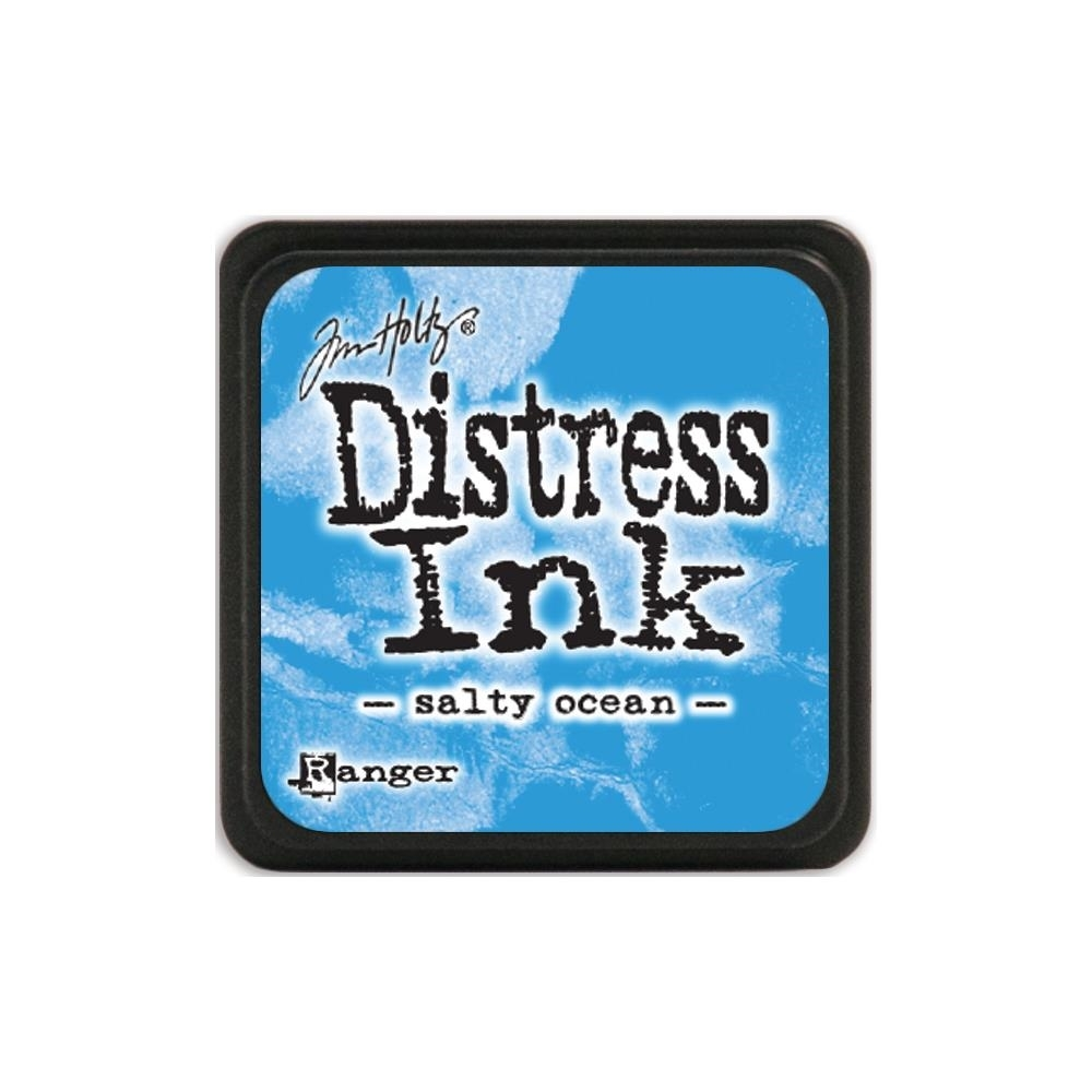 Tim Holtz Distress Mini Ink Pad SALTY OCEAN Ranger TDP40132 zoom image