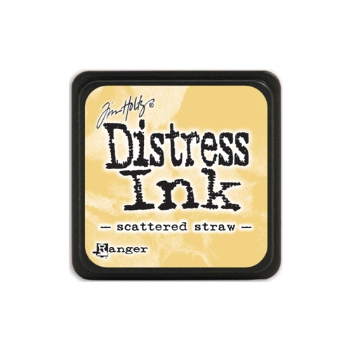 Tim Holtz Distress Mini Ink Pad SCATTERED STRAW Ranger TDP40149 Preview Image