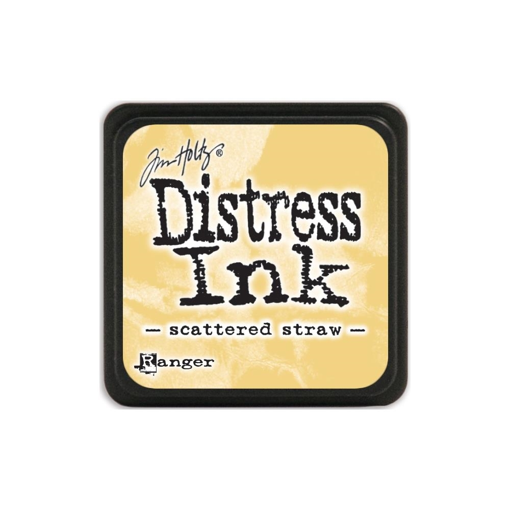 Tim Holtz Distress Mini Ink Pad SCATTERED STRAW Ranger TDP40149 zoom image