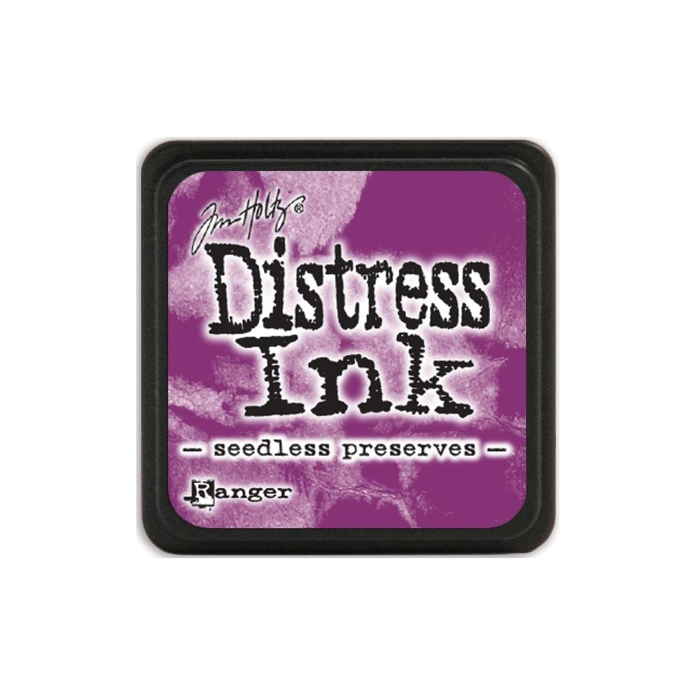 Tim Holtz Distress Mini Ink Pad SEEDLESS PRESERVES Ranger TDP40156 zoom image