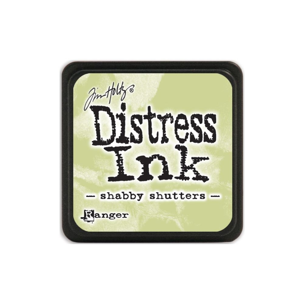 Tim Holtz Distress Mini Ink Pad SHABBY SHUTTERS Ranger TDP40163 zoom image
