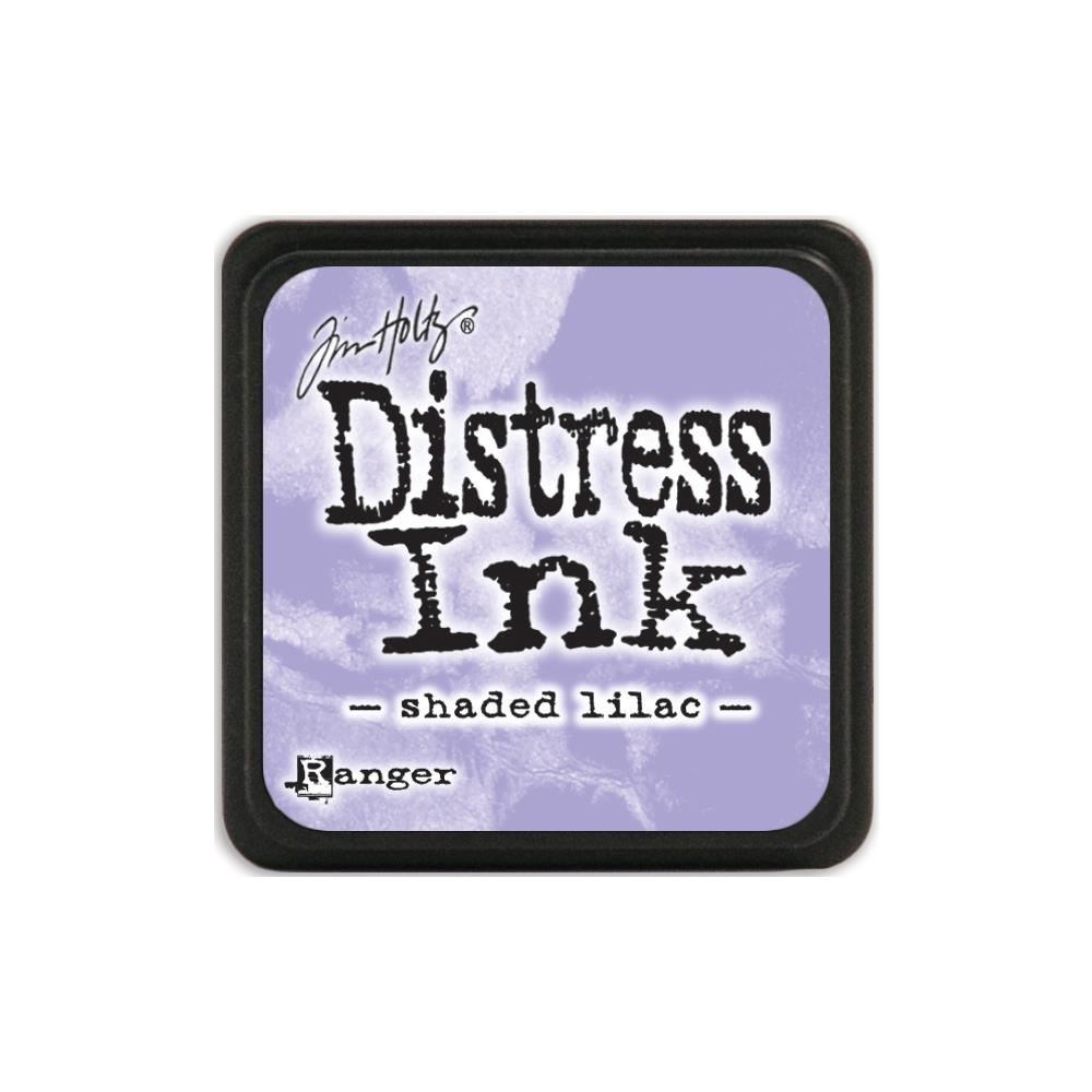 Tim Holtz Distress Mini Ink Pad SHADED LILAC Ranger TDP40170 zoom image