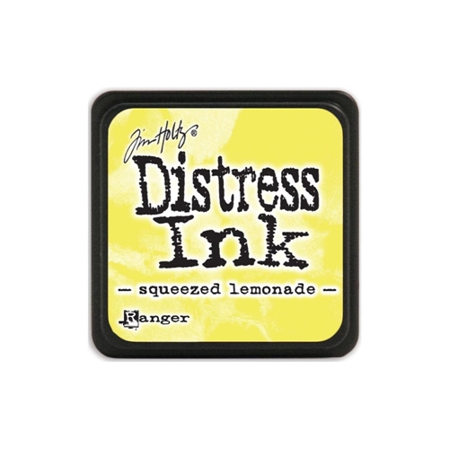 Tim Holtz Distress Mini Ink Pad SQUEEZED LEMONADE Ranger TDP40200 Preview Image