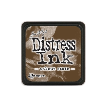 Tim Holtz Distress Mini Ink Pad WALNUT STAIN Ranger TDP40279