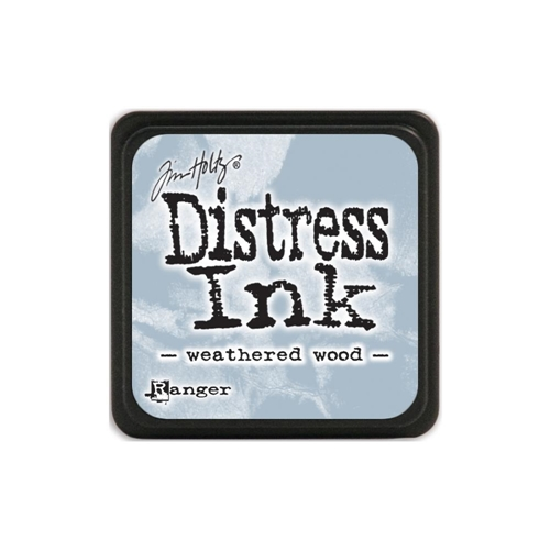 Tim Holtz Distress Mini Ink Pad WEATHERED WOOD Ranger TDP40286 Preview Image