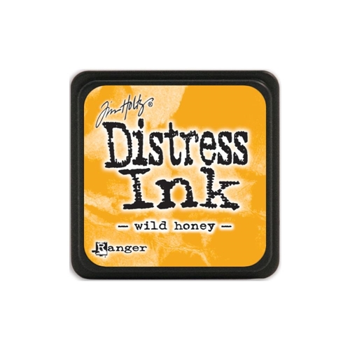Tim Holtz Distress Mini Ink Pad WILD HONEY Ranger TDP40293 Preview Image