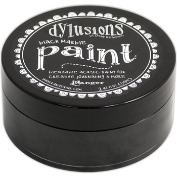 Ranger Dylusions Paint BLACK MARBLE DYP45946*