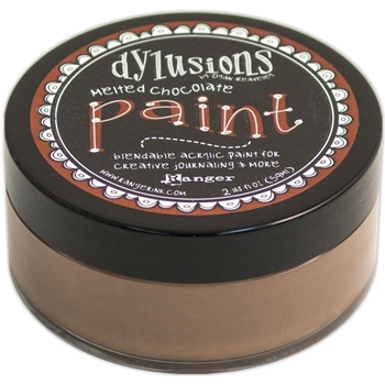 Ranger Dylusions Paint MELTED CHOCOLATE DYP46011