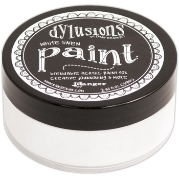 Ranger Dylusions Paint WHITE LINEN DYP46059*