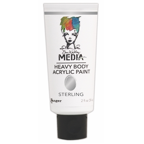 Dina Wakley Ranger STERLING Media Heavy Body Acrylic Paint MDP46400 Preview Image