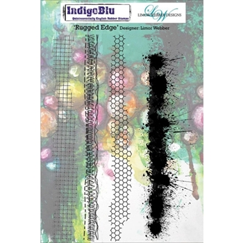 IndigoBlu Cling Stamp RUGGED EDGE Rubber IND0141PC