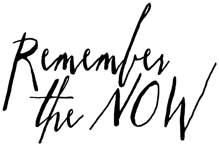 Tim Holtz Rubber Stamp WRITTEN REMEMBER THE NOW Stampers Anonymous J2-2574 zoom image