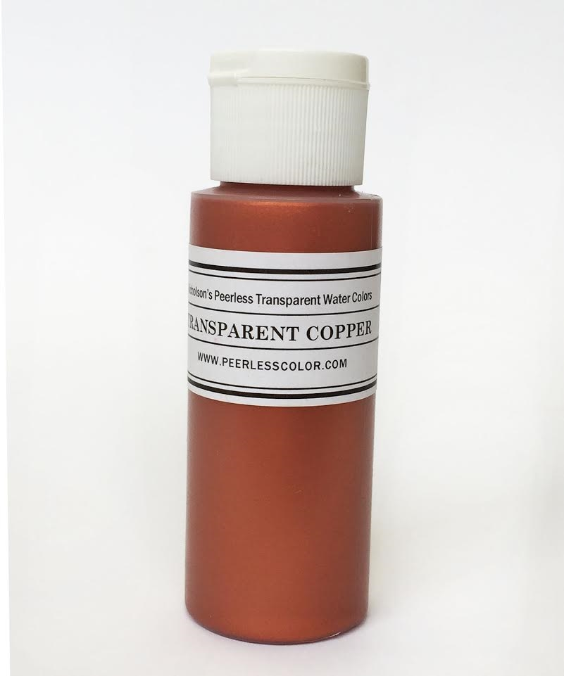 Peerless Transparent COPPER Metallic Wash PTMG zoom image