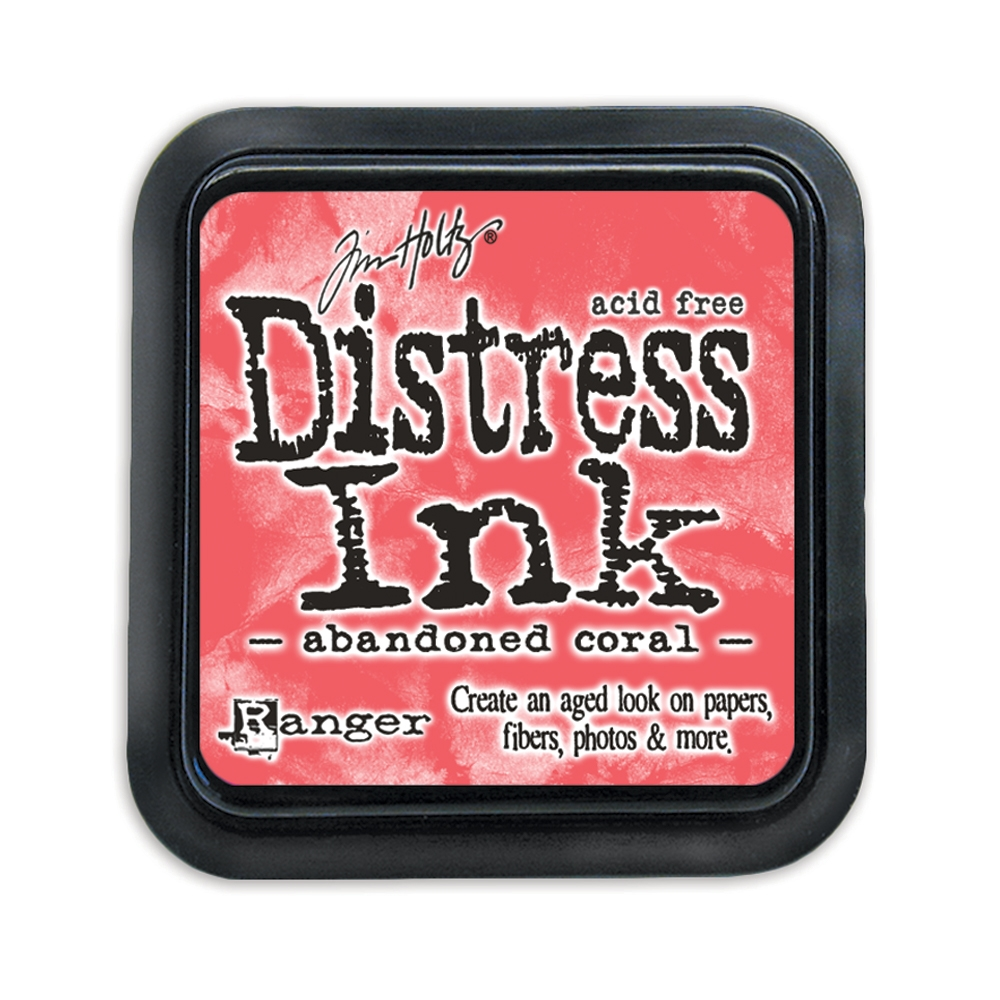 Tim Holtz Distress Ink Pad ABANDONED CORAL TIM43188 zoom image