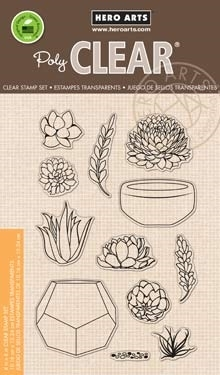 Hero Arts Clear Stamps STAMP YOUR OWN SUCCULENTS CL839 Preview Image