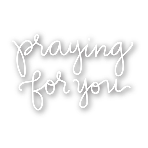Simon Says Stamp PRAYING FOR YOU Wafer Dies sssd111449 Hop To It Preview Image