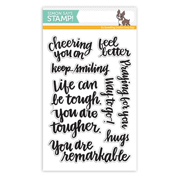 Simon Says Clear Stamps HAND LETTERED ENCOURAGEMENT sss101492