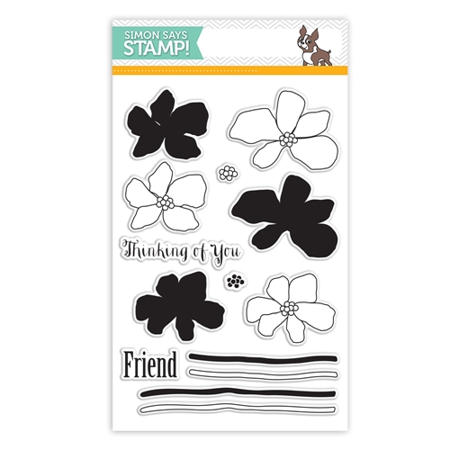 Simon Says Clear Stamps ARTFUL FLOWERS sss101488 Hop To It * Preview Image
