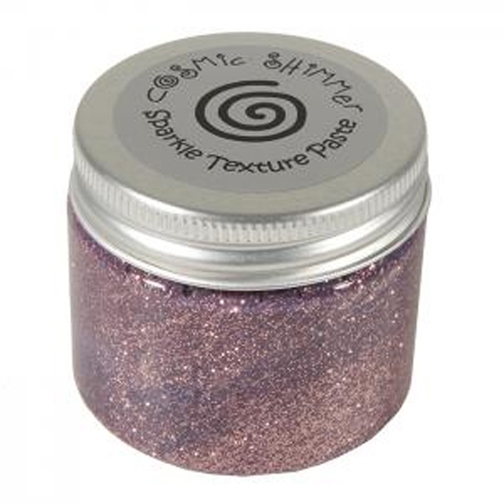 Cosmic Shimmer PINK BLUSH Sparkle Texture Paste 906505 zoom image
