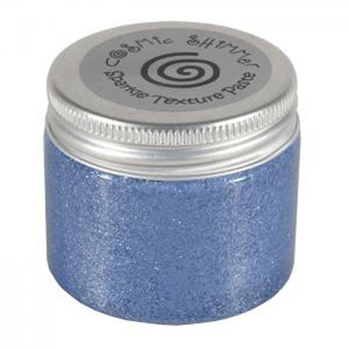 Cosmic Shimmer PERIWINKLE Sparkle Texture Paste 907632 zoom image