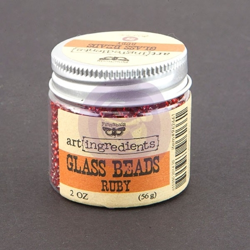 Prima Marketing RUBY Art Ingredients Glass Beads 962661 Preview Image