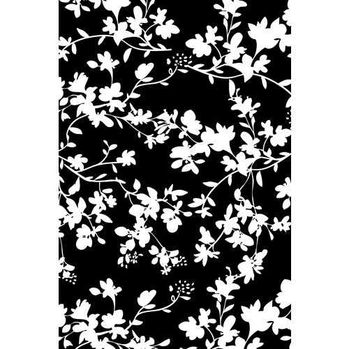 Tim Holtz Rubber Stamp FLORAL Stampers Anonymous X1-2592* Preview Image